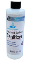 Hand Sanitizer 8oz - USA Made Hand Sanitizer | 70% Ethyl Alcohol by Volume, Formulated in Accordance with WHO Recommendations | Fast Acting (1 Pack)