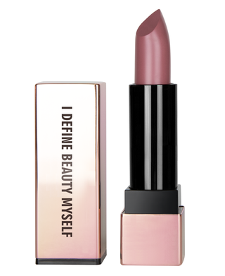 I DEFINE BEAUTY MYSELF - DUSTY PINK MOISTURIZING LIPSTICK