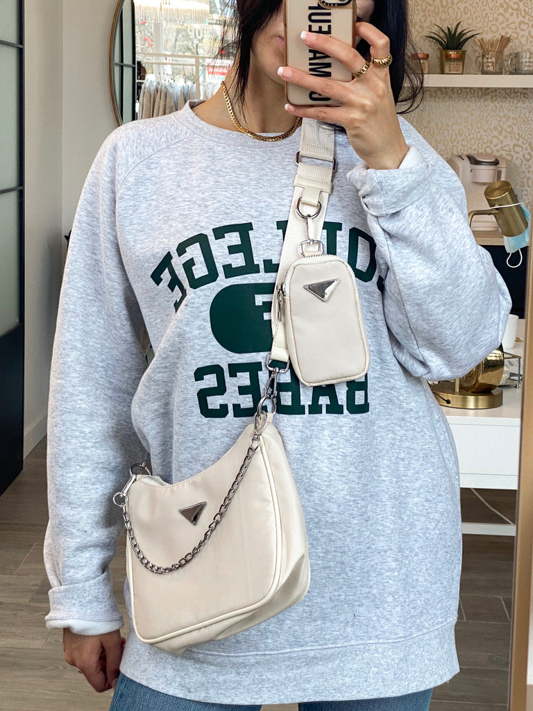 Cream Multi-Purse