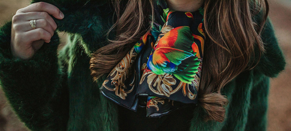 Alessandra Luciano Silk Scarves