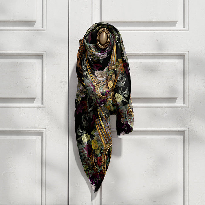 Florentricity silk scarf - Alessandra Luciano