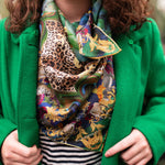 Where the Wild Things Are silk scarf - Alessandra Luciano