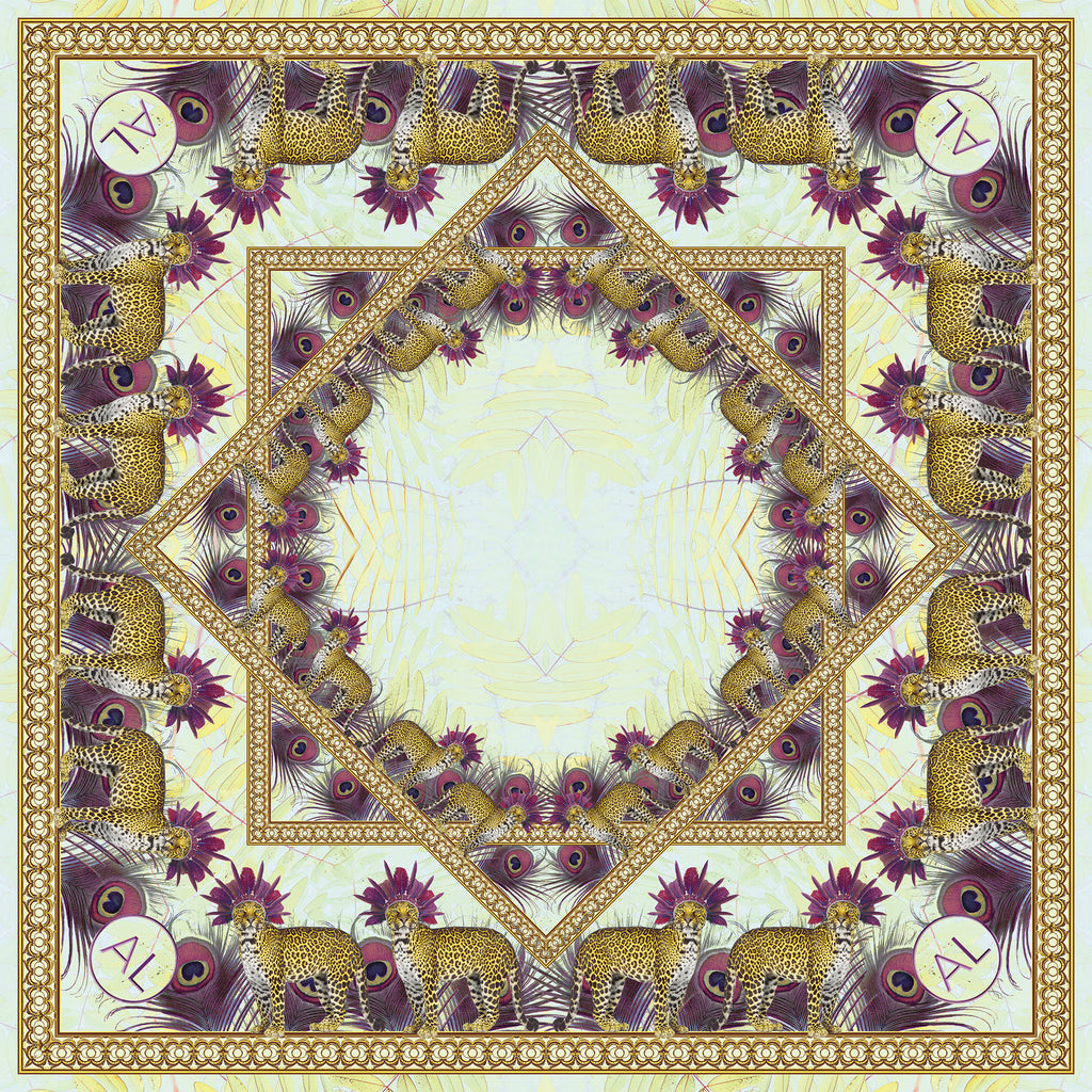 Equateur Summer silk scarf - Alessandra Luciano
