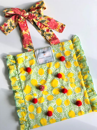 ⋈ 再入荷 ⋈Our Cheerful Eco-Bag -LEMON-