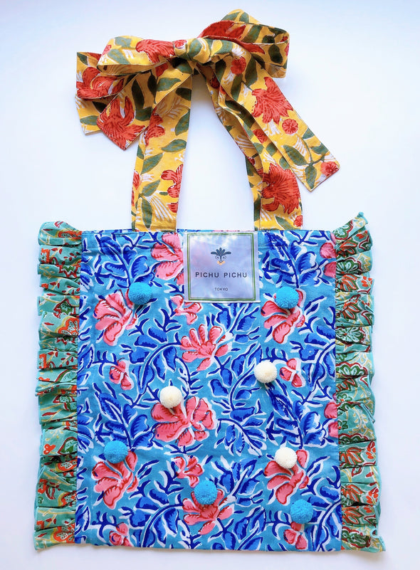 ⋈ 新入荷 ⋈Our Cheerful Eco-Bag -BLUE-