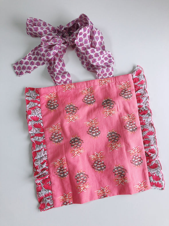 Our Cheerful Eco-Bag -PINK-