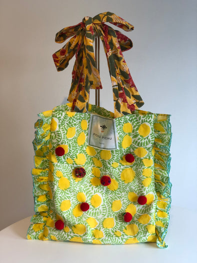 Our Cheerful Eco-Bag -LEMON-