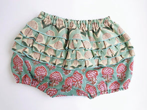 ⚘新入荷⚘ Baby Cheerful Frill Bloomer -GREEN-