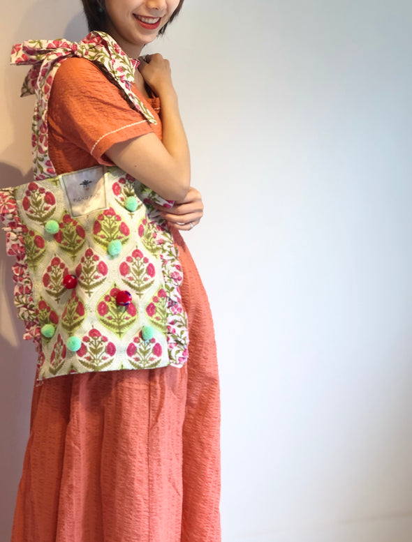 ⋈ 再入荷 ⋈Our Cheerful Eco-Bag -OLIVE-