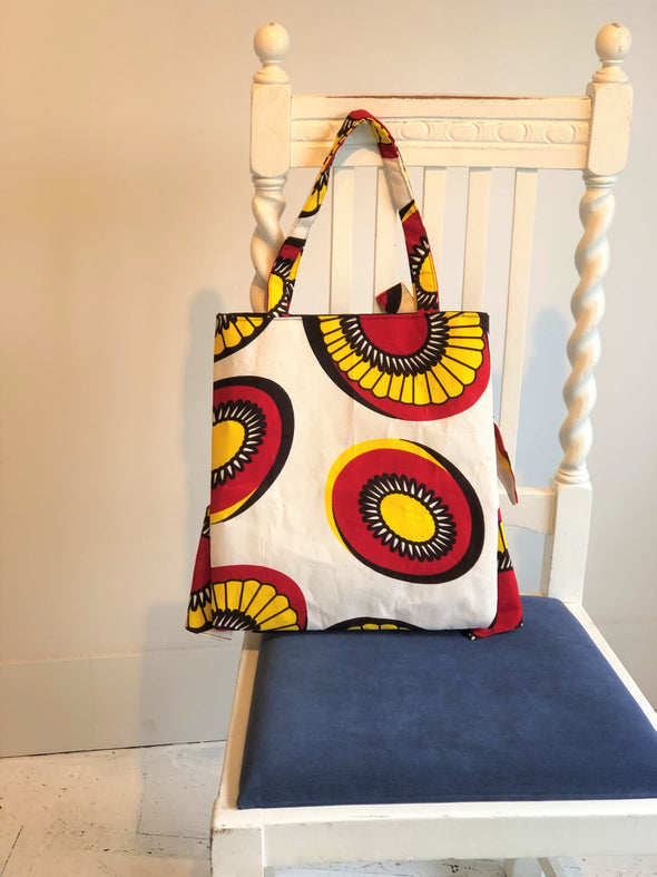 African Swing Bag -RED-