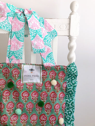 Our Cheerful Eco-Bag -GREEN-