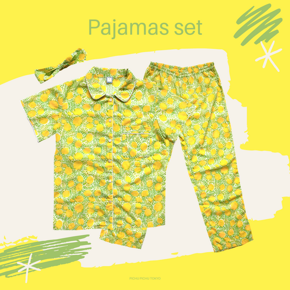 Cheerful Pajamas WOMEN -LEMON-