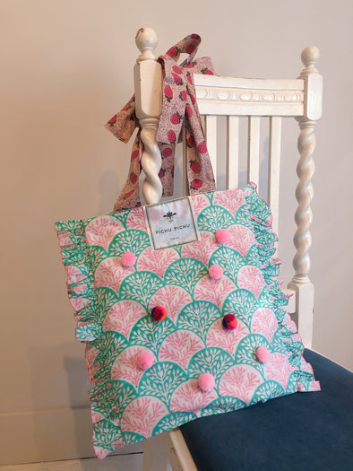 Our Cheerful Eco-Bag -CORAL-