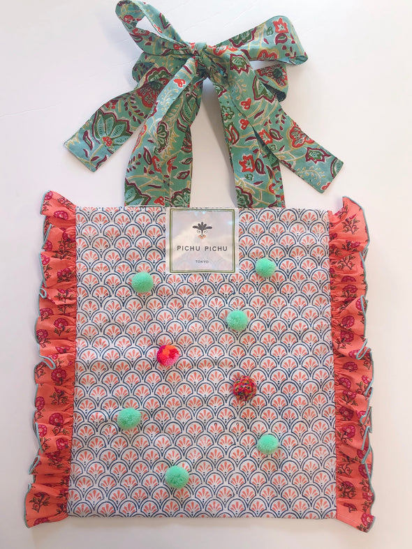 Our Cheerful Eco-Bag -ORANGE-