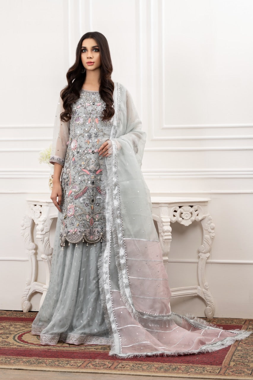 Ice Blue Lehnga