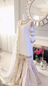 White Nikah Outfit