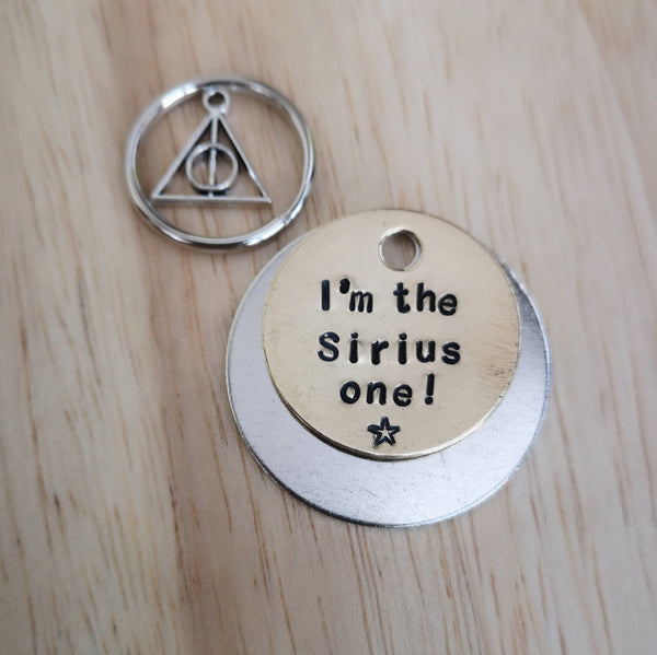 I'm the Sirius one - Harry Potter inspired dog tag pet tag #PoshTags