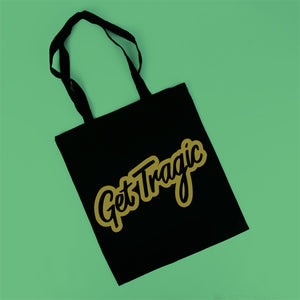 Get Tragic Gold Tote Bag