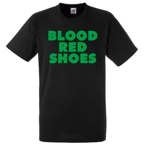 SALE! Blood Red Shoes Green Logo Shirt
