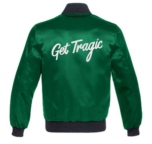 Get Tragic Custom Satin Jacket