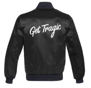 PRICE DROP! Get Tragic Black Satin Jacket