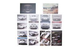 50th Anniversary Nissan Fairlady Z Postcard and Stamp Set