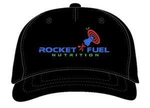 Black RocketFuel Logo Hat