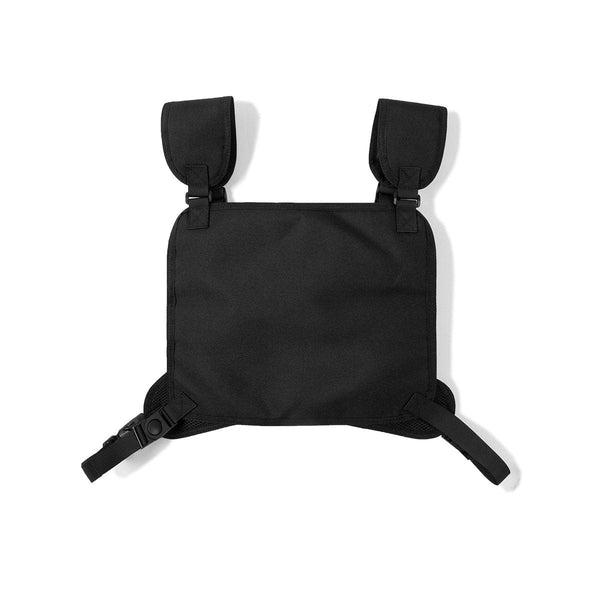 Black Tactical Chest Rig - Streetwear Functional Vest Bag