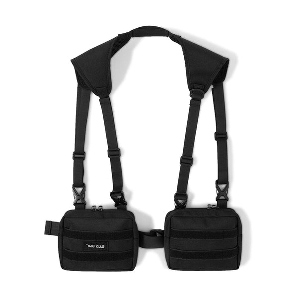 Black Tactical Shoulder Bag - Buy Techwear Accessories