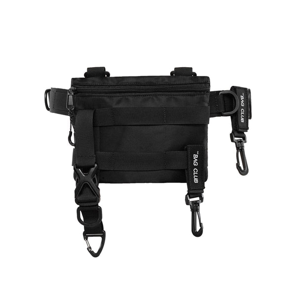 Black Tactical Waist Bag - Techwear Fanny Pack