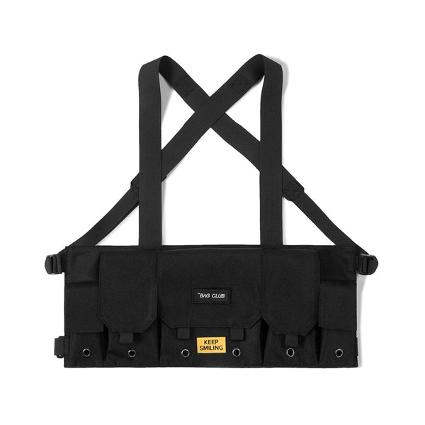 Keep Smiling Chest Rig - Techwear Tactical Vest Bag