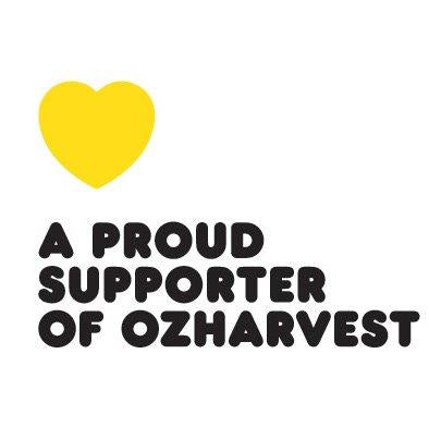 OzHarvest proud supporter