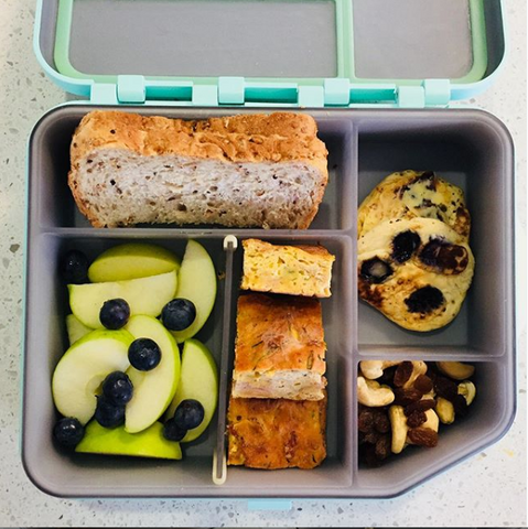 Fritatta is a great addition to any lunchbox