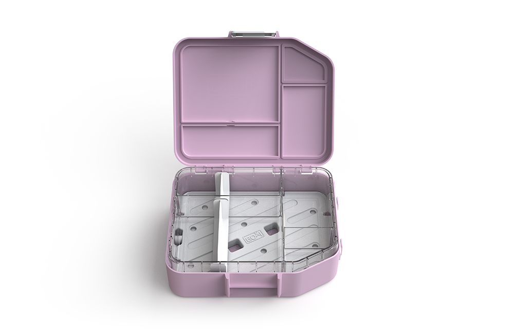 Boxi Cool™ Lunchbox with ice brick - 'Strawberry'