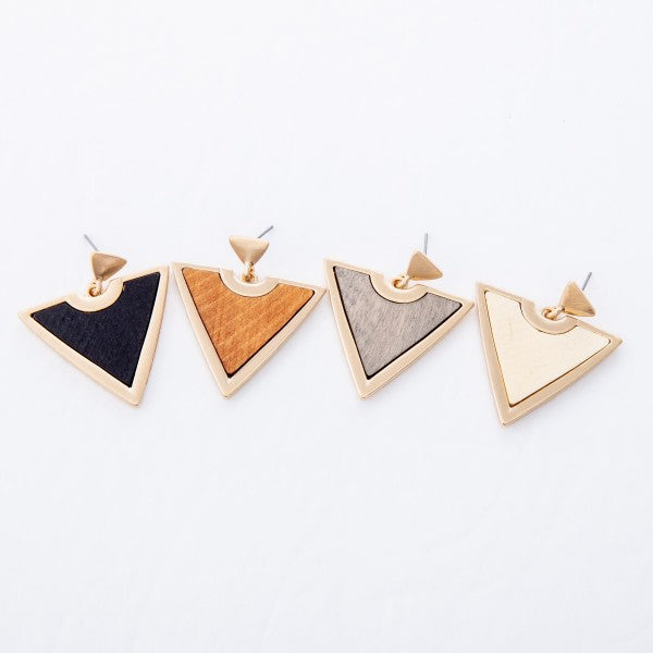 Influence Triangle Earrings