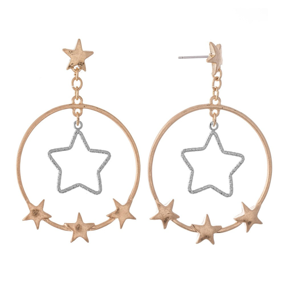 Pomina Nested Star Detail with Star Accents