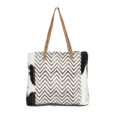 Chevron Cross Design Myra Tote Myra Bag