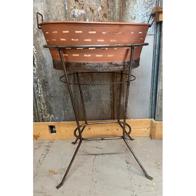 Copper Tub with Stand