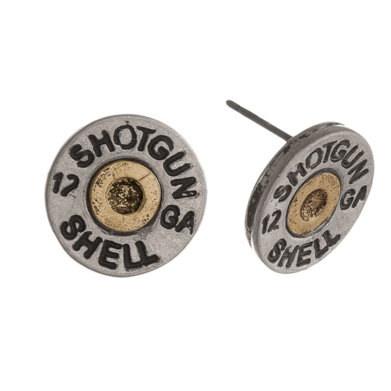 Shotgun Shell Earrings