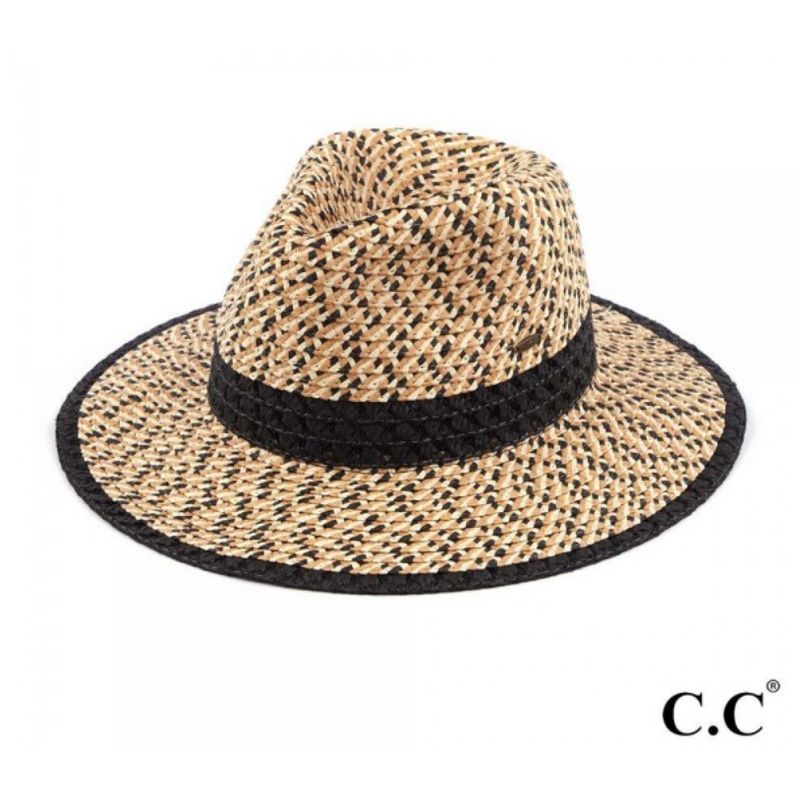 Triple Heather Paper Panama Hat