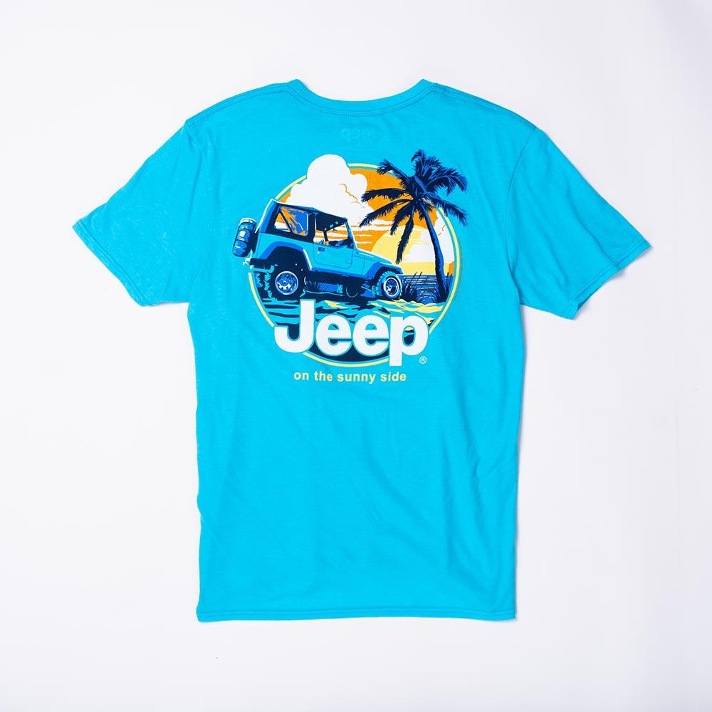 On The Sunny Side Jeep T-Shirt