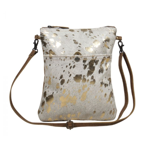 Speckled Leather Myra Small and Myra Crossbody Bag