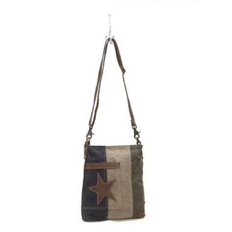 Star on Denim Myra Shoulder Bag