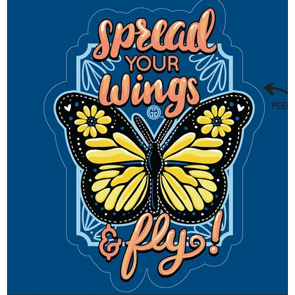 Spread Your Wings Decal