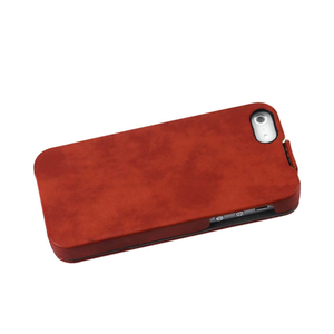 FITTING CASE APPLE IPHONE 5 HORSE SKIN PATTERN ORANGE