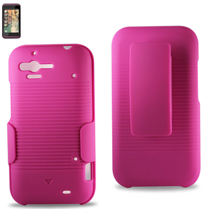 HOLSTER COMBOS HTC RHYME 6330 HOT PINK