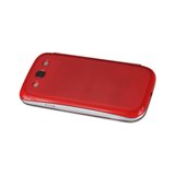 FITTING CASE WITH BATTERY COVER SAMSUNG GALAXY S3/ I9300 RED