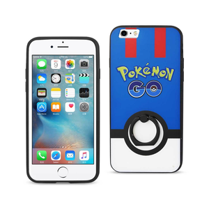 IPHONE 6/ 6S MYSTIC CASE WITH ROTATING RING STAND HOLDER IN BLUE