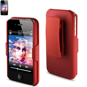 HOLSTER COMBOS IPHONE4S RED