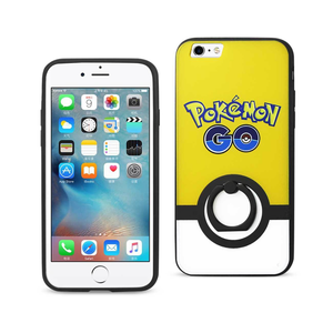 IPHONE 6/ 6S INSTINCT CASE WITH ROTATING RING STAND HOLDER IN YELLOW
